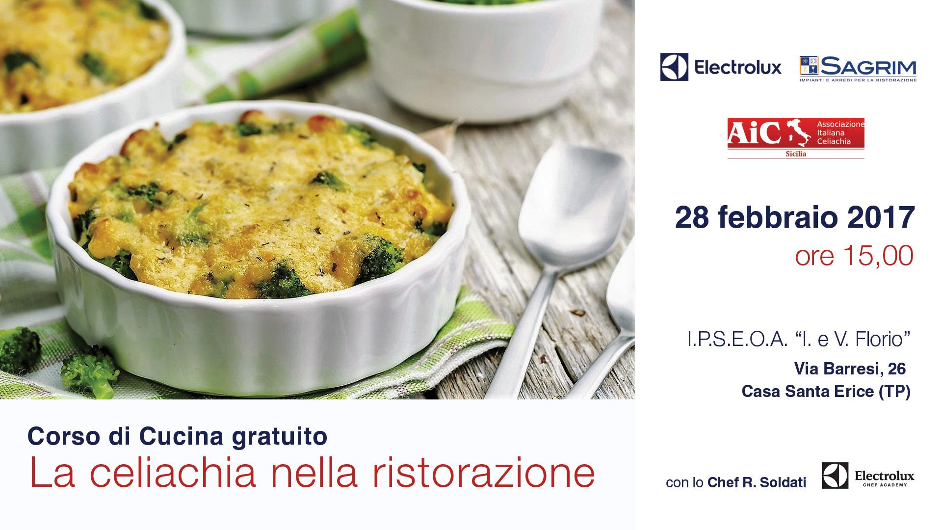 corso di cucina gratuito la celiachia nella ristorazione